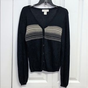 Casual Corners Sweater Size S Button Front